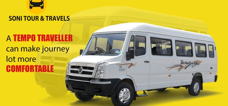 A tempo traveller can make journey lot more comfortable